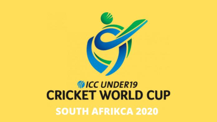 ICC 2020 Under 19 Cricket World Cup Team
