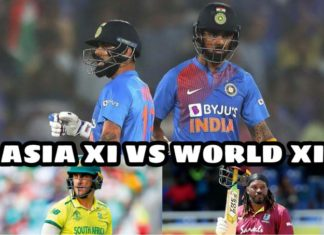 Asia XI vs World XI