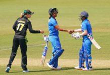Australia womens Triseries Australia vs India 5th match