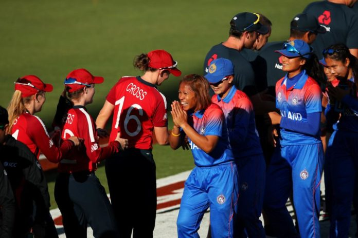 England vs Thailand Women's T20I world cup