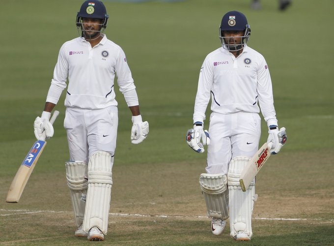 Prithvi Shaw and Gill