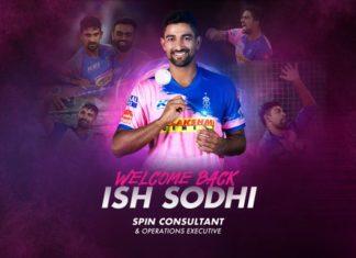 Ish Sodhi in IPL 2020