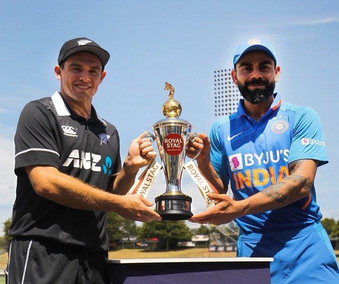 New Zealand Vs India 1st ODI at Hamilton february 2020