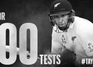 Ross Taylor-100 test matches
