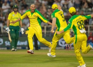 South Africa vs Australia 1st t20i