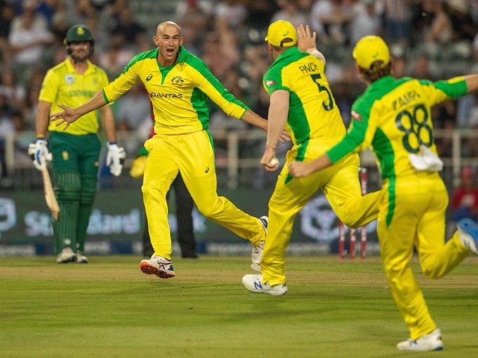 South Africa vs Australia 1st t20i