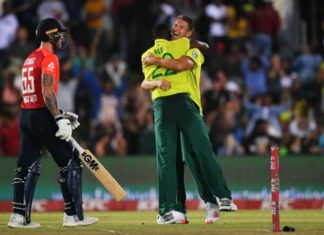 South Africa win 1st T20I