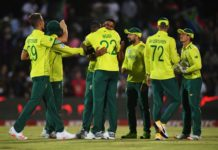 South Africa cricketers