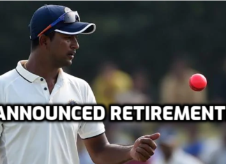 ojha announced retirement