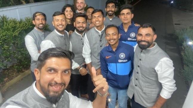 team india in Wellington