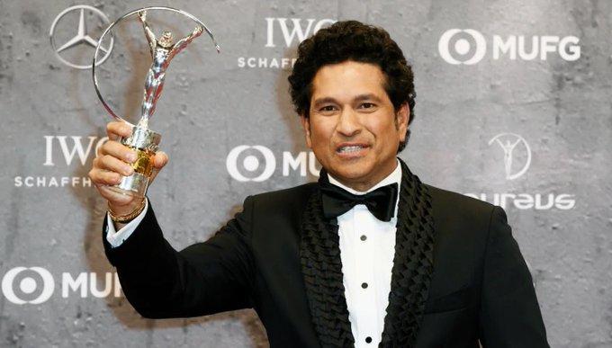 Tendulkar wins Laureus award