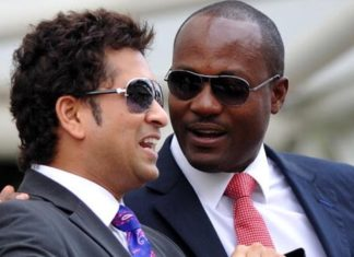 Brain Lara and Sachin Tendulkar