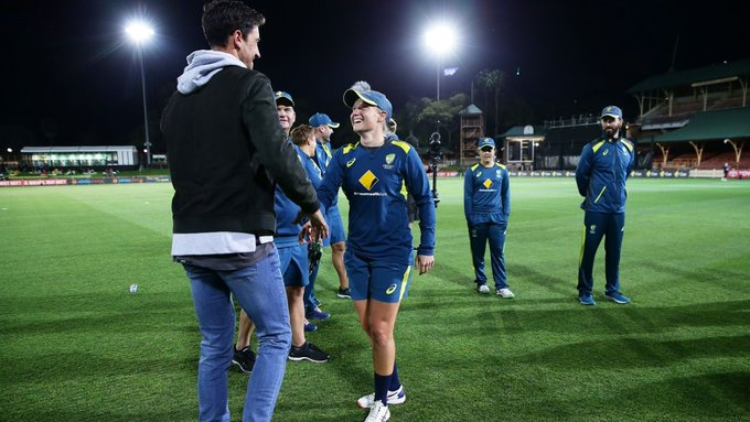Healy and Starc