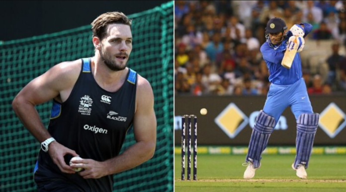 Mitchell McClenaghan on MS Dhoni