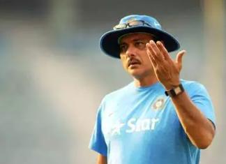 Ravi Shastri- Indian head coach