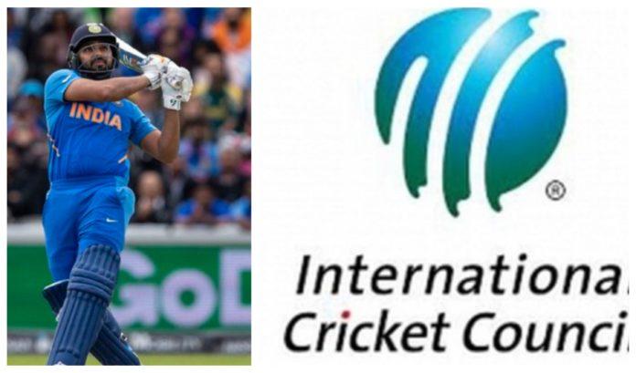 Rohit Sharma replies ICC tweet