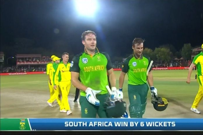 South Africa vs Australia 2nd ODI