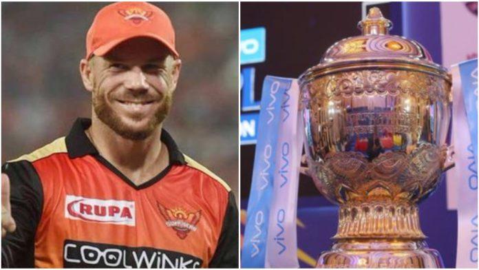 Warner in IPL 2020