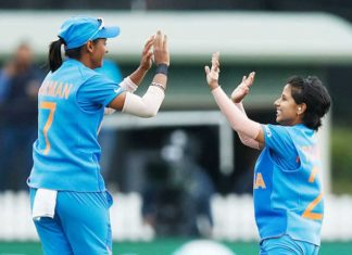 harmanpreet and Poonam Yadav