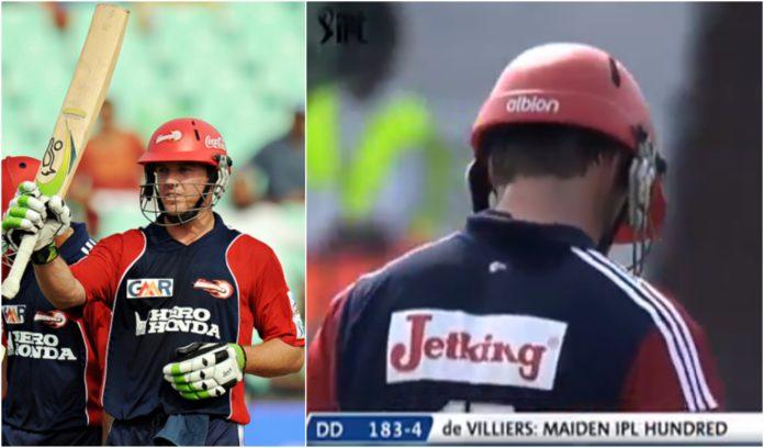 AB de Villiers scored maiden IPL century against Chennai Super Kings in 2008