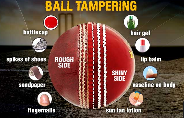 Cricket authorities considering to legalize ball-tampering in the cricket games takes place after COVID-19 spread controlled