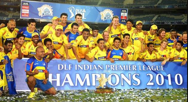 CSK beat Mumbai Indians to lift maiden IPL trophy in 2010