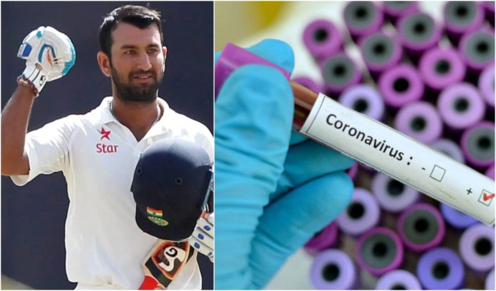 Chateshwar Pujara spokes on 21 day lock down imposed to prevent spread of corona virus