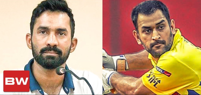 Dinesh Karthik Reveals How it Feels When CSK Roped Dhoni in 2008