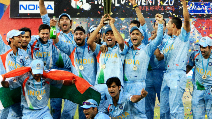 India wins T20 world cup in 2007