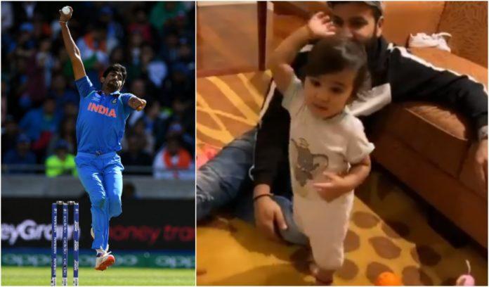 Jasprit Bumrah Shares Adorable Video Of Rohit Sharma's Daughter