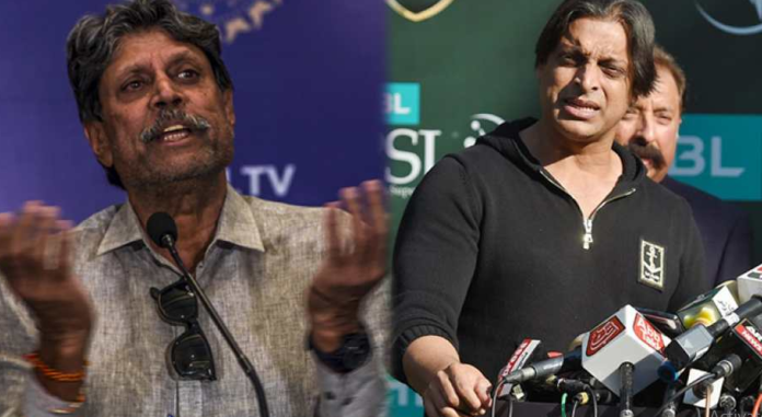 Kapil Dev speaks against Shoaib Akhtar's India-Pakistan series proposal