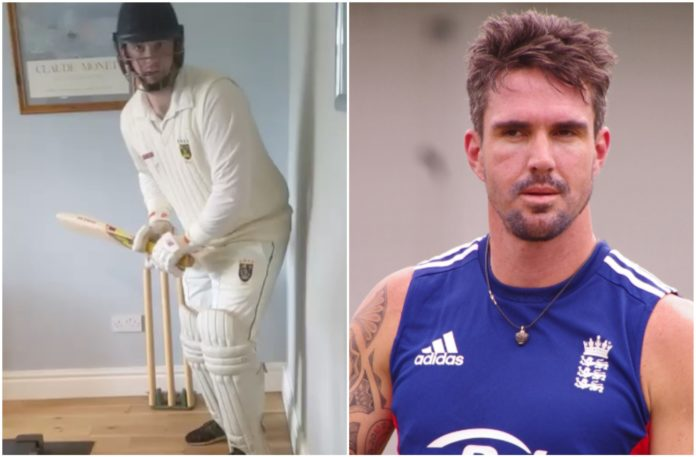 Kevin Pietersen on Instagram posted a hilarious video