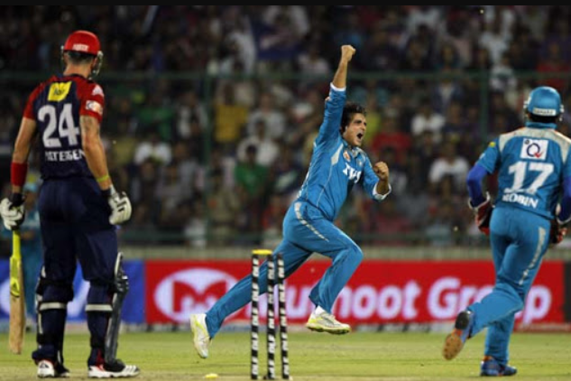 Sourav Ganguly's All-round Show Guided Pune warriors to Victory vs Delhi Daredevils in IPL 2012