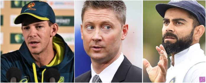 Tim Paine disproves Michael Clarke's statement over Australia 'too scared' to sledge Virat Kohli