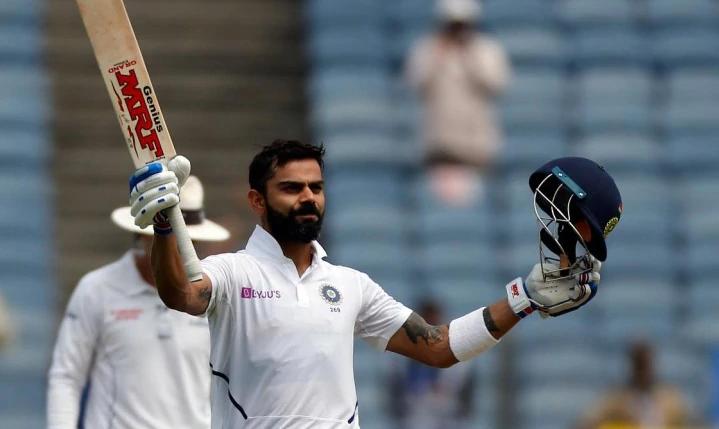 Virat Kohli in test match