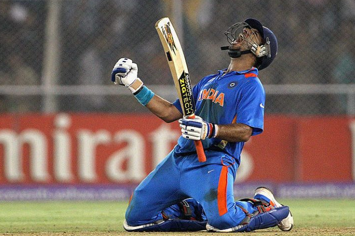 Yuvraj Singh bagged player of the tournament award in World cup 2011