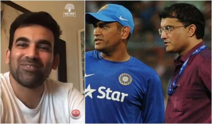 Sourav Ganguly or MS Dhoni: Who was a better captain? Zaheer Khan answers