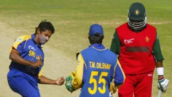 Zimbabwe registered lowest ODI score vs Sri Lanka