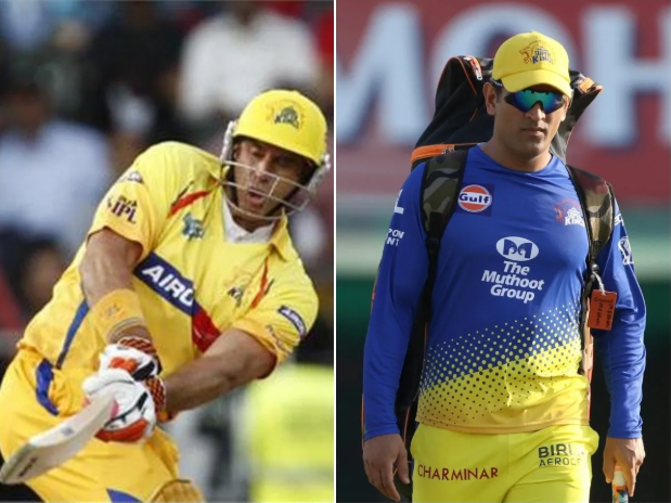 Hayden, who had been practicing with Mongoose bat for a year and a half convinced Dhoni that the Mongoose bat is better when it comes to striking the ball better