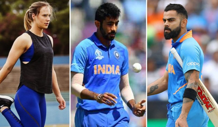 Perry finally answered saying she would rather choose to bowl to Kohli than to face Jasprit Bumrah.