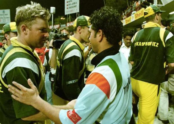 Australia vs India- Sachin Tendulkar performance against Shane Warne