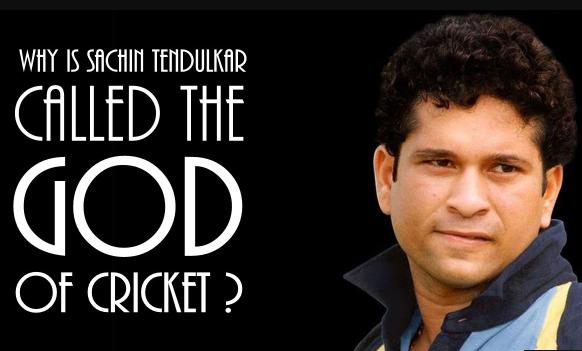 Reason to call Sachin as GOD of cricket