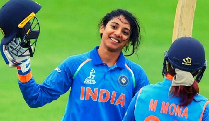 Smriti Madhana in T20I