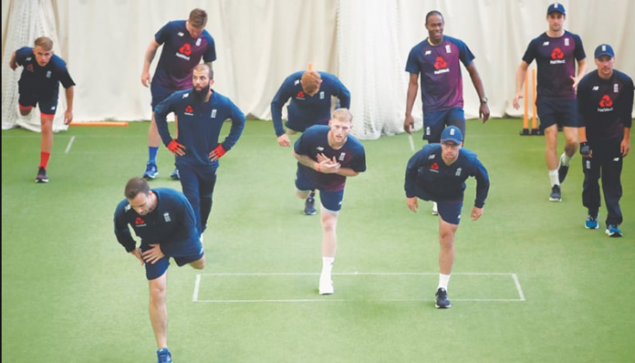 England squad for test match against West Indies