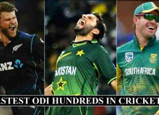Top 20 fastest ODI centuries