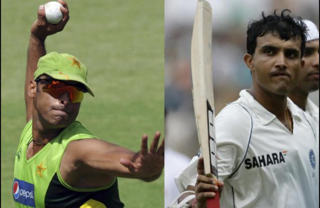 Shoaib Akhtar praises Sourav Ganguly as bravest batsman