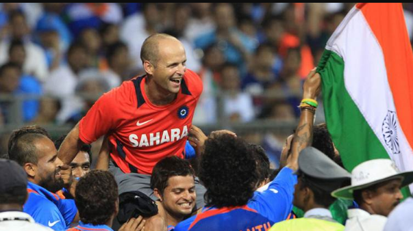 Gary Kirsten interview moment with BCCI