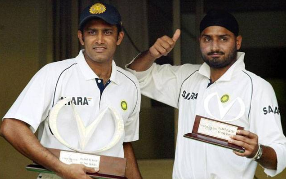 Anil Kumble is the greatest Indian spinner says Harbhajan Singh