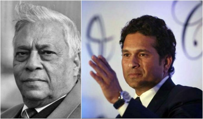 Sachin Tendulkar pays tribute to late Rajinder Goel