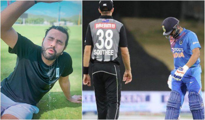 Rohit Sharma resumes training